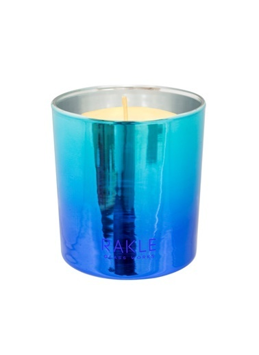 Rakle 210 gr Colurful Shine Candle Blue Mavi